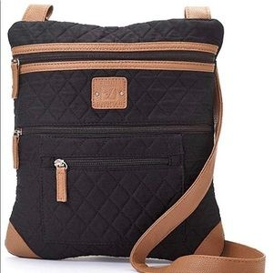 STONE MOUNTAIN | Solid Quilted Lockport Crossbody